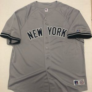 New York Yankees MLB Authentic Jersey 3XL